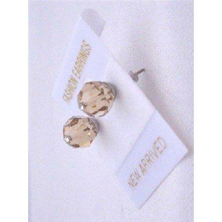 UER327  Gorgeous Genuine Swaroski Colorado Crystals Stud Earrings Affordable Crystals Earrings