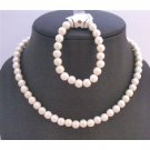 GC140  Ivory Round Beads Necklace Perfect Girls Birthday Party Return Gifts