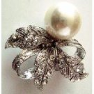 B490  Reasonable Holiday Gift Great Price For Christmas Gift Diamante Brooch