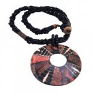 N905  Shell Pendant Is Complimented With Elegant Very Ethnic Pendant Necklace Perfect Gift