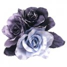 B531  Fabric Flowers Brooches For Bridesmaids Dresses & For Hair