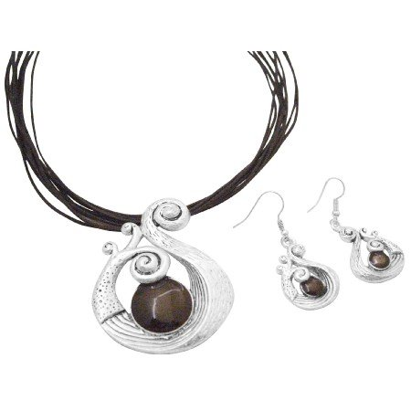 NS003  Stylish Sleek Ethnic Attractive Jewelry Set Affordable Inexpensive Jewelry
