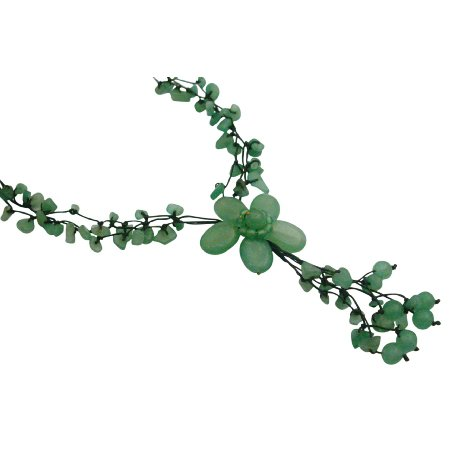 N933  Quality Jewelry Guaranteed Low Prices Green Jade Necklace Gift