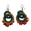 UER503  Fantastics Prices For Handmade Crochet Knitted Earrings