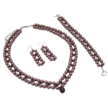 BRD1016  Find Burgundy Jewelry At Fashion Jewelry For Everyone Collection