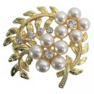 B586  Fabulous Brooch Bouquet With Fantasy Floral Designs