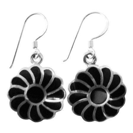 SER083  Gorgeous Gift Buy Sterling Silver Flower Earrings