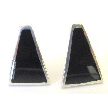 SER096  Artisan Sterling Silver Earrings Gift Fine Jewelry
