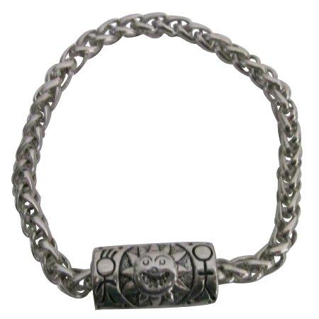 Classic Jewelry Man Bracelet Hip Hop Punk Sun style Gift Very Chic