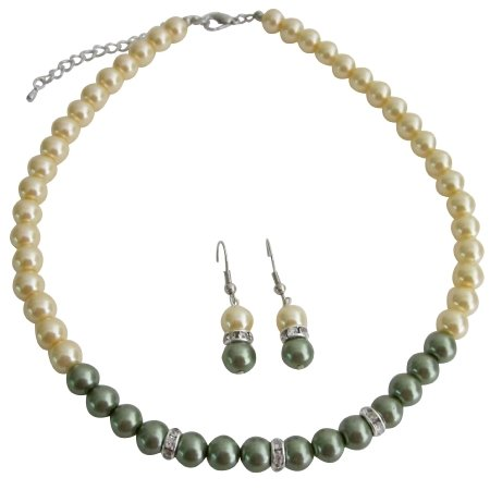 NS1178 Popular Junior Bridesmaid Jewelry Stunning Color