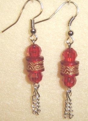 Red Earrings