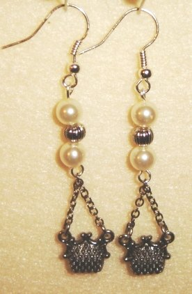 Purse Earrings