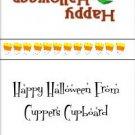 Sucker  Lollipop  Wrapper Halloween 05 ~ Set of 12