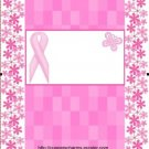 Breast Cancer Candy Bar Wrapper  Customize