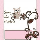 Save the Hooters Breast Cancer Candy Bar Wrapper