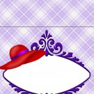 Sweet Notes Box Red & Purple Hat