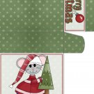 Sweet Notes Christmas Mouse  01
