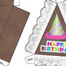 Pie Wedge 2 Piece Box Happy Birthday