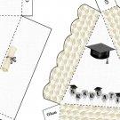 Pie Wedge 2 Piece Box Graduation
