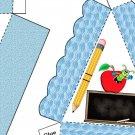 Pie Wedge 2 Piece Box School Says