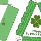 Pie Wedge 2 Piece Box Happy St. Patrick's Day