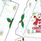 Pie Wedge 2 Piece Box Christmas Hugs