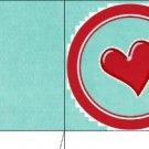 Cupcake Box Valentine's Day Aqua Box 01 ~ 1 Dozen