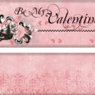 Valentine's Day Candy Bar Wrapper 01 ~ Set of 1 Dozen