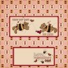 Valentine's Day Candy Bar Wrapper 22 ~ Set of 1 Dozen