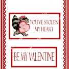 Valentine's Day Candy Bar Wrapper 48