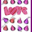 Valentine's Day MINI Candy Bar Wrapper  ~ 1 Dozen
