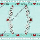 Valentine's Day MINI Candy Bar Wrapper ~ 1 Dozen