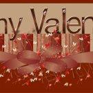 Valentine's Day Gallon Can Set Be My Valentine Rust  (19)