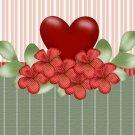 Valentine's Day Gallon Can Set Green Stripe Set 2  (8)