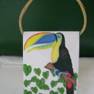 Animal Purse and/or Treat Box  Tucan