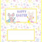 Easter Candy Bar Wrap ~ Personalize it!