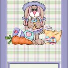 Easter MINI Candy Bar Wrapper Eggs  ~ Personalize it!  ~ 1 Dozen