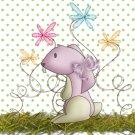 Easter MINI Candy Bar Wrapper Eggs ~ Crazy Bunny   ~ 1 Dozen
