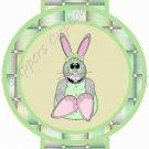 Easter Pencil or Straw Slider ~ Bunny Green Basket ~ 3 Dozen Set