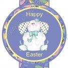 Easter Pencil or Straw Slider ~ Blue Bunny ~ 3 Dozen Set