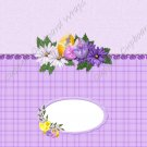 Easter Candy Bar Wrap ~ Purple Plaid