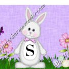 Salt & Pepper Wrappers ~ Easter Bunny Purple