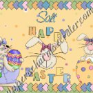 Salt & Pepper Wrappers  ~ Easter Bunny Trio Yellow