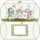 Easter Pillow Boxes ~ Crazy Bunny