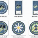 Mother's Day Gallon Can Set Denim Daisy Set 7