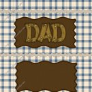 Father's Day Standard Candy Bar Wrapper ~ Dad