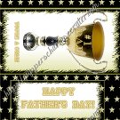 Father's Day Standard Candy Bar Wrapper ~ Trophy