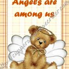 "Dear Diary Angel Bear Book 5"" X 7"" Size ~ Angels Are Among US"