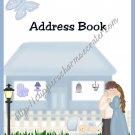 """Address Book 4"""" X 6"""" Size ~  Baby Boy Theme"""