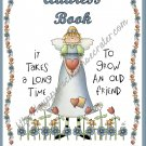 """Address Book 5"""" X 7"""" Size ~ ~  Country Angel Theme"""
